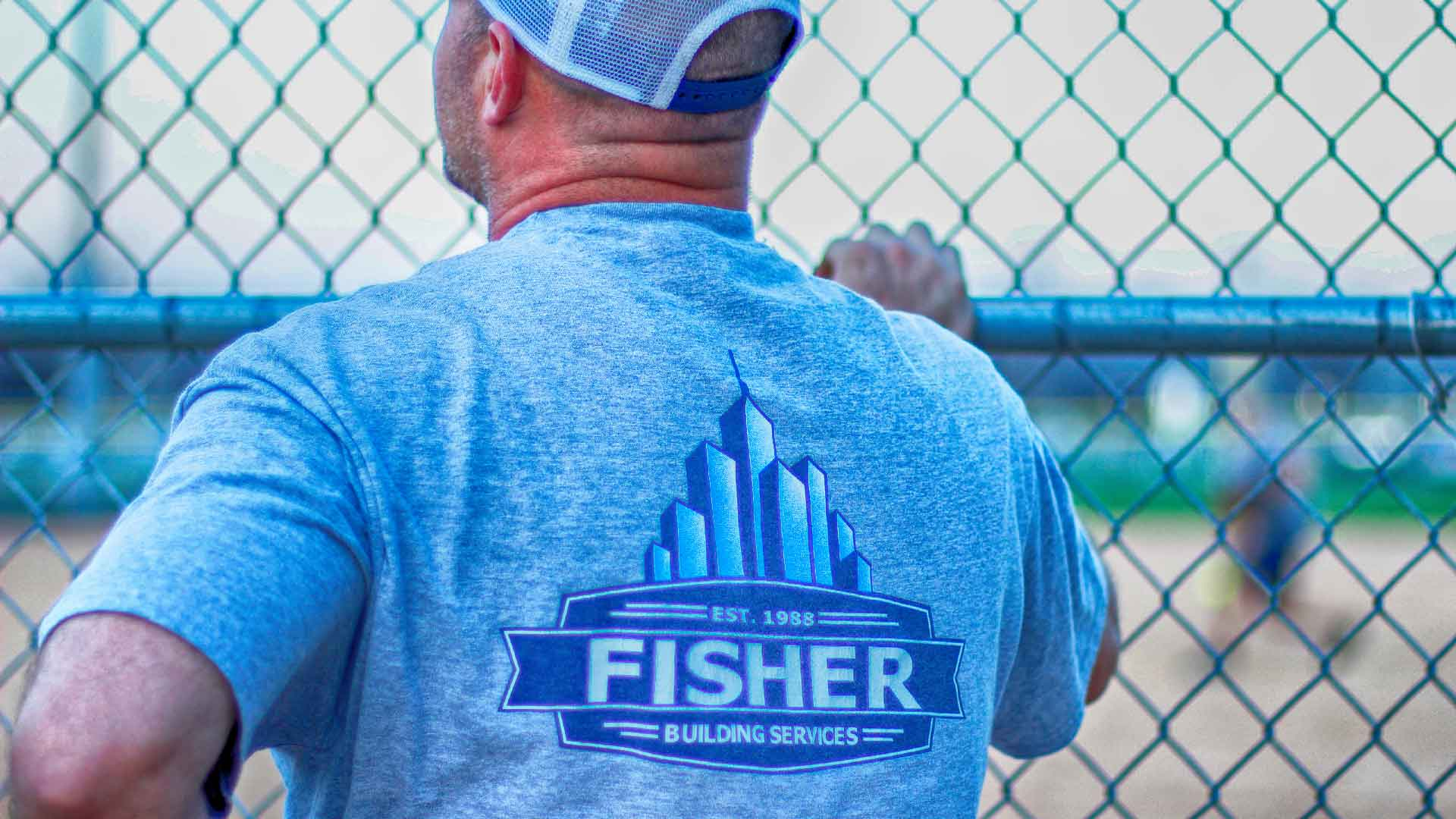 Fisher Building Services Soft Ball Game